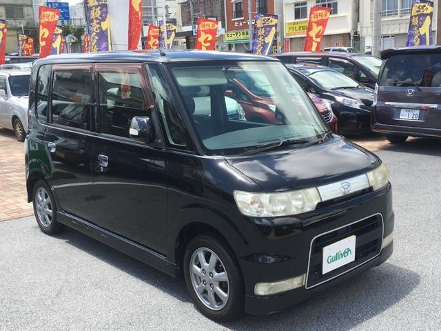 沖縄の中古車 ダイハツ タント 車両価格 39万円 リ済別 2006(平成18)年 11.8万km ブラック