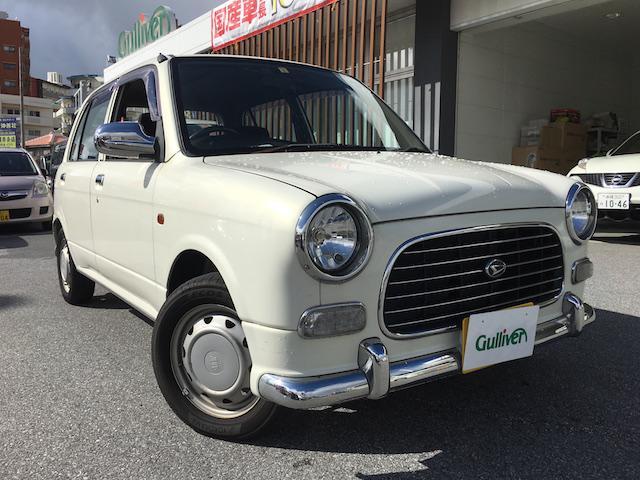 沖縄の中古車 ダイハツ ミラジーノ 車両価格 34万円 リ済別 2000(平成12)年 11.5万km パールホワイトI