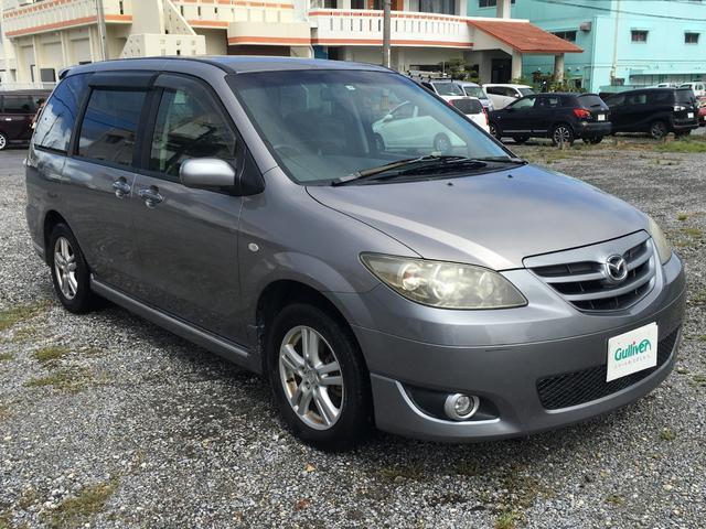沖縄の中古車 マツダ MPV 車両価格 39万円 リ済別 2003(平成15)年 14.8万km ライトグレーM