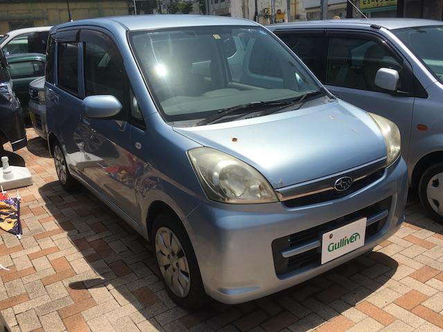 沖縄の中古車 スバル ステラ 車両価格 39万円 リ済別 2007(平成19)年 14.9万km ライトブルーM