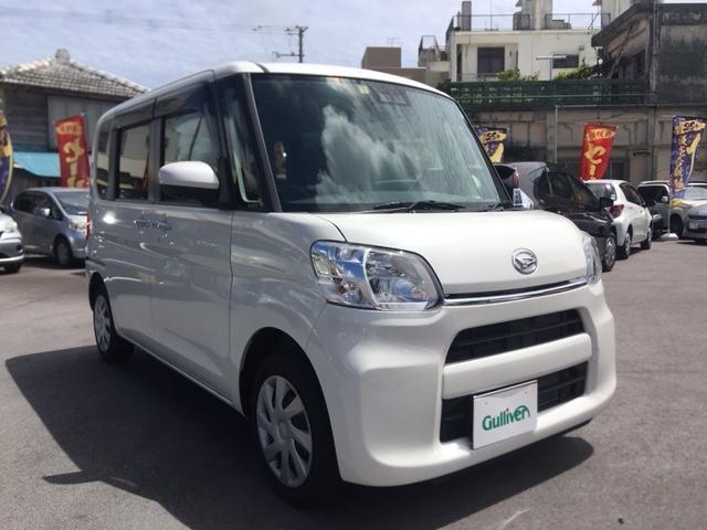 沖縄県の中古車ならタント X SAIII スマートキー ナビ バックかメラ