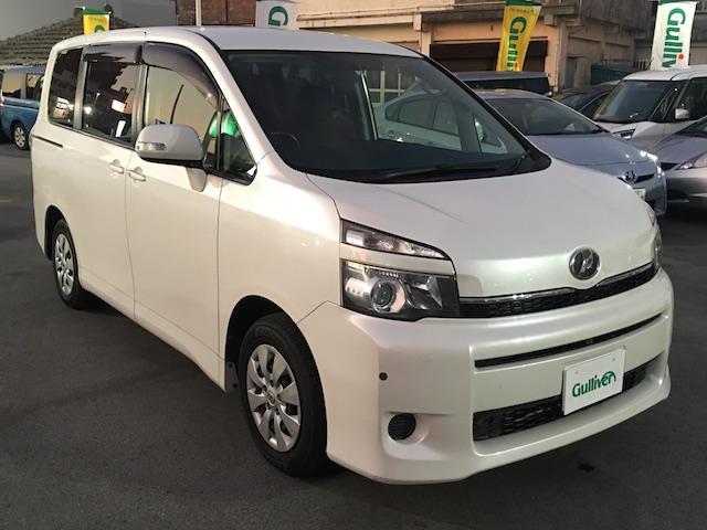 沖縄県の中古車ならヴォクシー X Lエディション 社外ナビ 両側パワスラ ETC