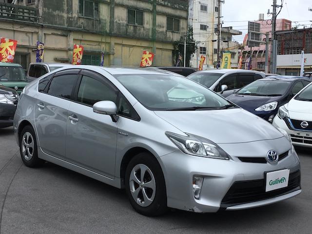 沖縄県の中古車ならプリウス S 社外HDDナビ バックカメラ