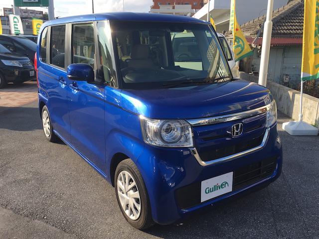 沖縄県の中古車ならN-BOX G・Lホンダセンシング 社外ナビ Bカメラ 片側パワスラ