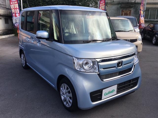 沖縄県の中古車ならN-BOX G・Lホンダセンシング 社外ナビ Bカメラ ETC