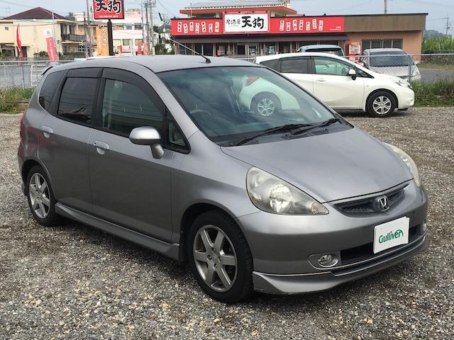 沖縄の中古車 ホンダ フィット 車両価格 39万円 リ済別 2003(平成15)年 12.9万km ガンM