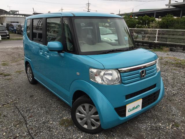 沖縄県沖縄市の中古車ならN-BOX G 社外オーディオ スマートキー