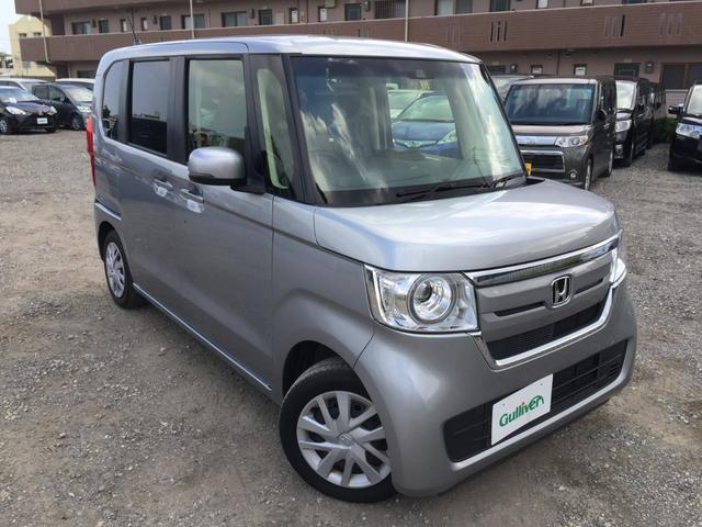 沖縄県の中古車ならN-BOX G・Lホンダセンシング ナビ カメラ スマートキー