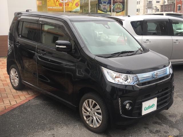 沖縄県の中古車ならワゴンRスティングレー X SDナビ バックカメラ レーダーブレーキサポート