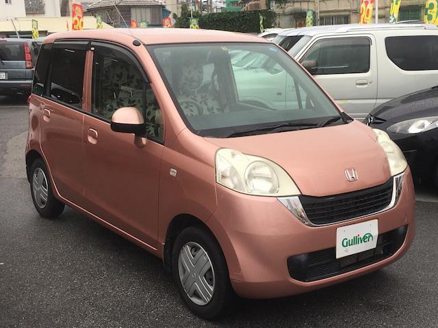 沖縄の中古車 ホンダ ライフ 車両価格 49万円 リ済別 2009(平成21)年 7.9万km ピンク