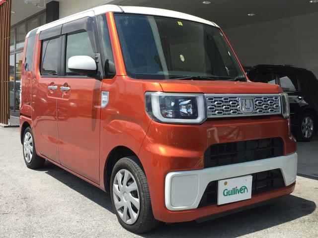 沖縄県沖縄市の中古車ならウェイク L バックカメラ スマートキー 安全装備