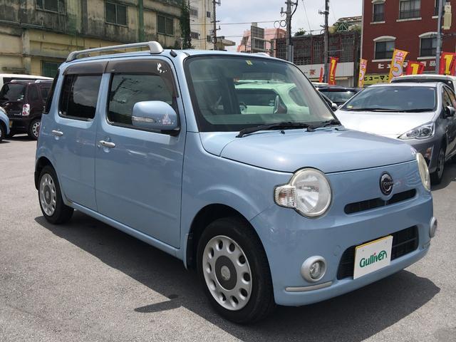 沖縄県の中古車ならミラココア ココアプラスX 純正オーディオ スマートキー