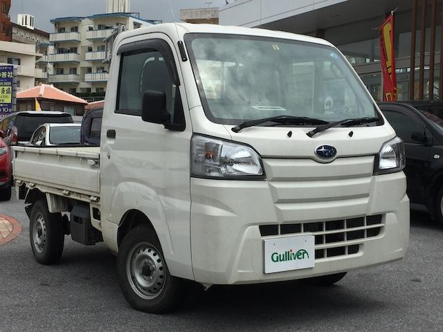 沖縄県の中古車ならサンバートラック TB エアコン・4WD・ドアバイザー