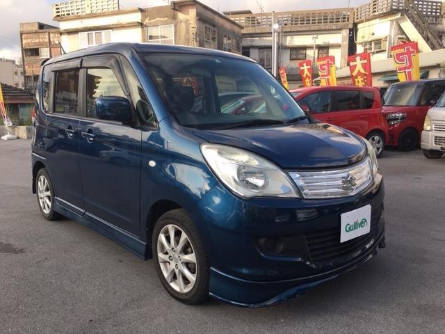 沖縄の中古車 スズキ ソリオ 車両価格 54.9万円 リ済別 2012(平成24)年 9.5万km ブルー