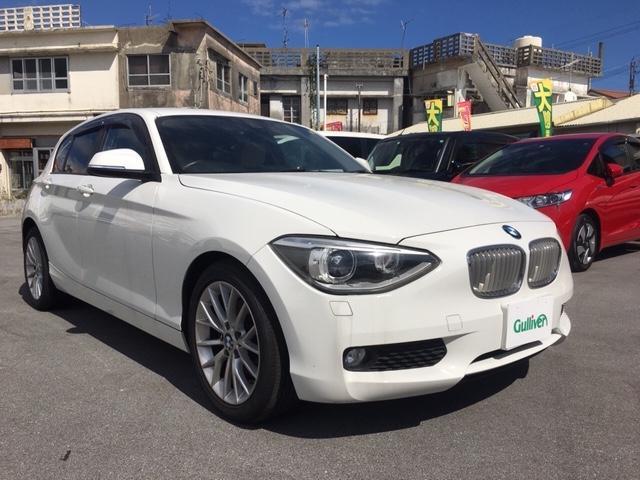 BMW 1シリーズ 116i ファッショニスタ 純正ナビ ETC Bカメラ 革シート