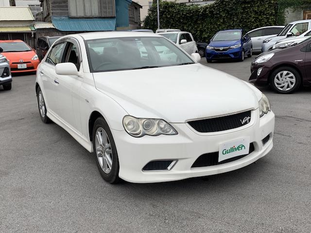 沖縄県の中古車ならマークX 250G ヴェルティガ キーレス ナビ