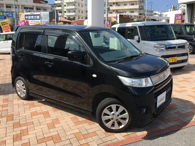 沖縄の中古車 スズキ ワゴンRスティングレー 車両価格 49万円 リ済別 2010(平成22)年 8.1万km ブラック