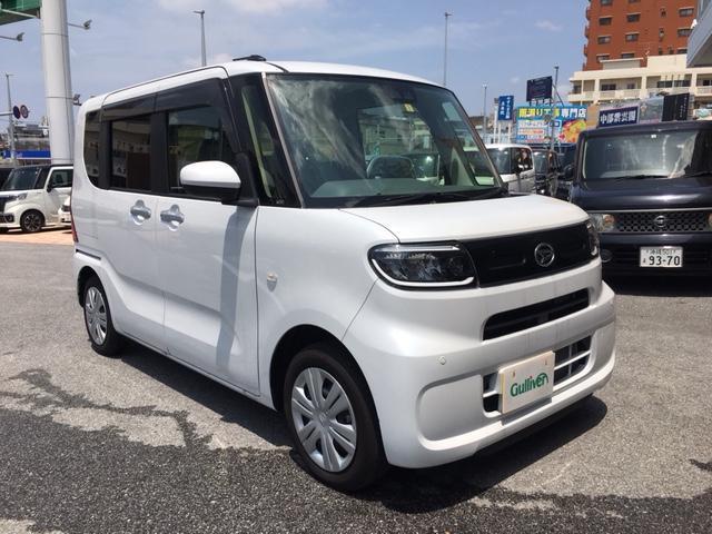 沖縄県の中古車ならタント X 純正オーディオ  左パワスラ スマートアシスト スマートキー コーナーセンサー