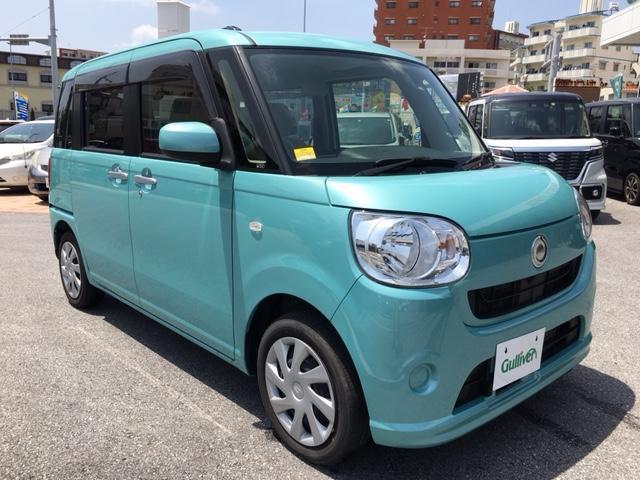 沖縄県の中古車ならムーヴキャンバス L キーレス 純正オーディオ