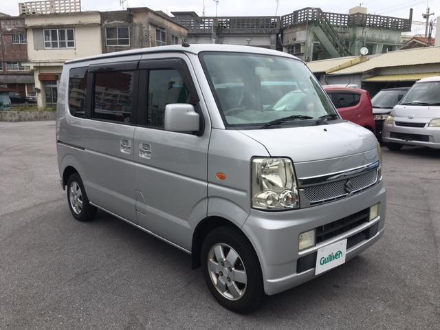 沖縄県の中古車ならエブリイワゴン JPターボ キーレス ナビ