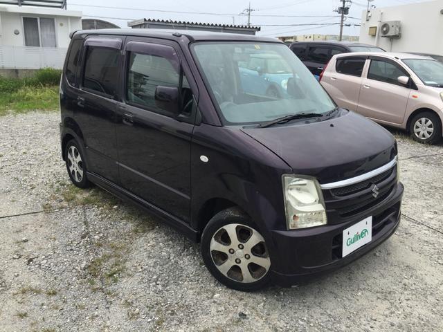 沖縄の中古車 スズキ ワゴンR 車両価格 39万円 リ済別 2008(平成20)年 6.9万km ワイン