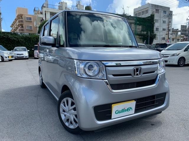 沖縄県の中古車ならN-BOX G・Lホンダセンシング プッシュスタート&スマートキー ETC ナビ Bカメラ