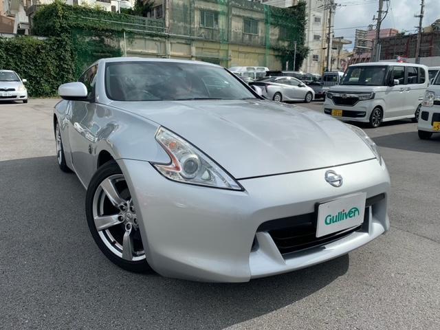 沖縄県の中古車ならフェアレディZ バージョンT メーカーナビ 純正アルミ 電格ミラー
