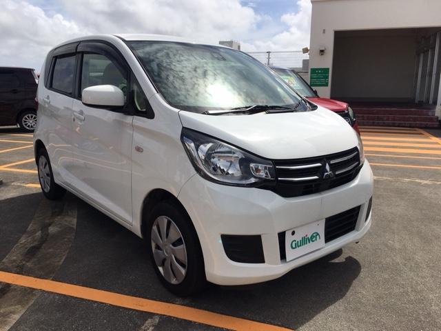 沖縄県の中古車ならeKワゴン M e-アシスト 社外ナビ ETC 衝突軽減サポート シートヒーター