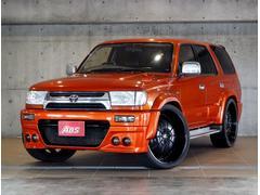 沖縄の中古車 トヨタ ハイラックスサーフ 車両価格 111万円 リ済別 平成9年 20.2万K オレンジメタ