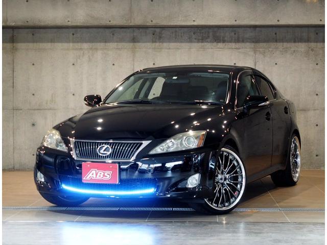 沖縄の中古車 レクサス IS 車両価格 88万円 リ済別 平成21後 16.8万km ブラック