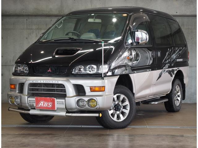 沖縄の中古車 三菱 デリカスペースギア 車両価格 76万円 リ済別 1998(平成10)年 20.7万km ブラックII