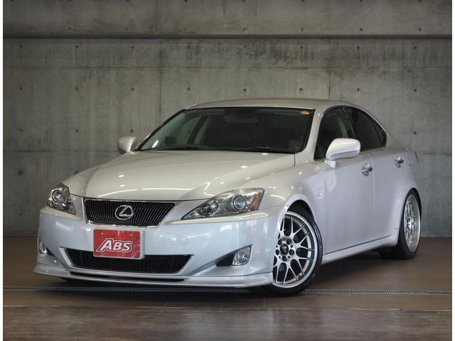 沖縄の中古車 レクサス IS 車両価格 69万円 リ済別 2006(平成18)年 14.6万km シルバー