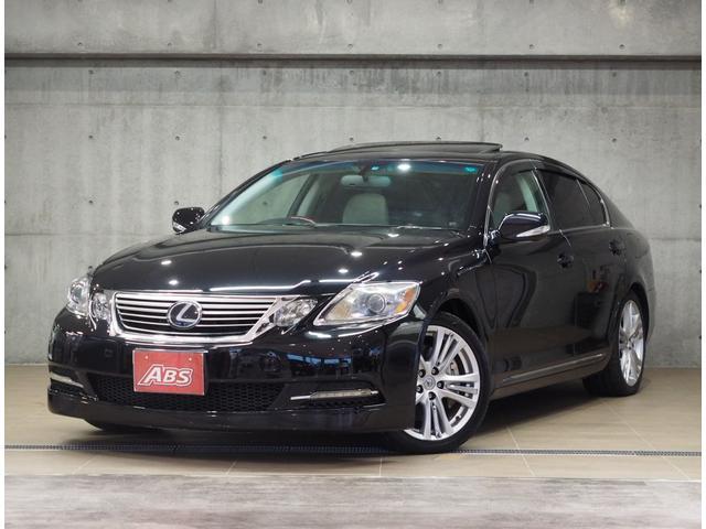 沖縄の中古車 レクサス GS 車両価格 88万円 リ済別 2007(平成19)後 15.5万km ブラックM