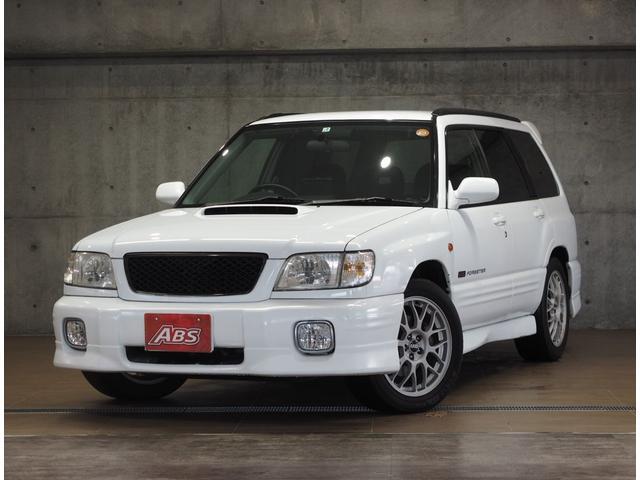 沖縄県の中古車ならフォレスター STiII 当社買取車 社外LEDヘッドライト TV DVD