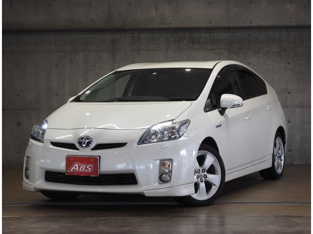 沖縄の中古車 トヨタ プリウス 車両価格 69万円 リ済別 2011(平成23)年 11.7万km パール