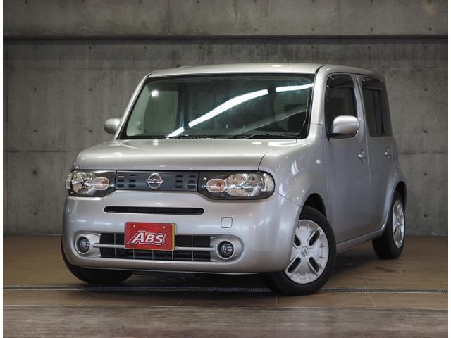 沖縄の中古車 日産 キューブ 車両価格 36万円 リ済別 2010(平成22)年 7.7万km シルバー