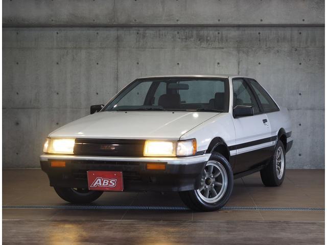 沖縄県の中古車ならカローラレビン GT APEX 5MT ワタナベ14AW 社外マフラーサス