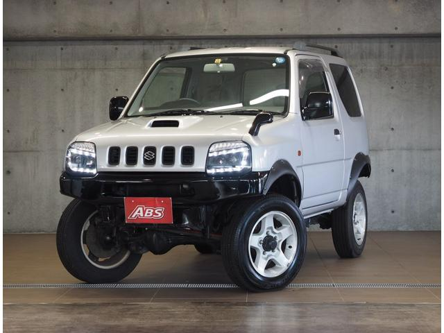 沖縄の中古車 スズキ ジムニー 車両価格 66万円 リ済別 1999(平成11)年 14.2万km シルバーM