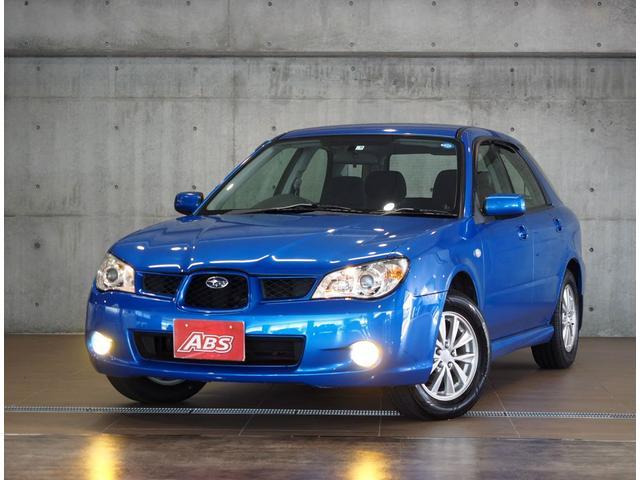 沖縄の中古車 スバル インプレッサスポーツワゴン 車両価格 26万円 リ済別 2007(平成19)年 12.8万km ブルー