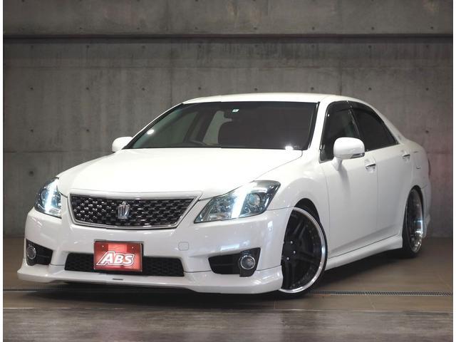 沖縄の中古車 トヨタ クラウン 車両価格 138万円 リ済別 2010(平成22)後 10.2万km パールM