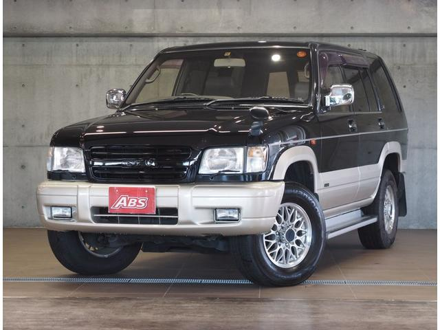 沖縄の中古車 いすゞ ビッグホーン 車両価格 58万円 リ済別 2000(平成12)年 15.2万km ブラックII
