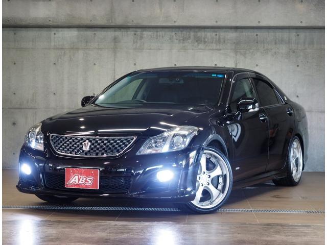 沖縄県の中古車ならクラウン 3.5アスリートGパック +M スーパーチャージャー 車高調