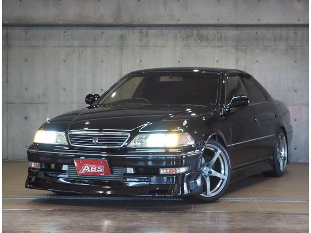 沖縄県の中古車ならマークII ツアラーV仕様 MT・EG載替公認 車高調 エアロ HDD