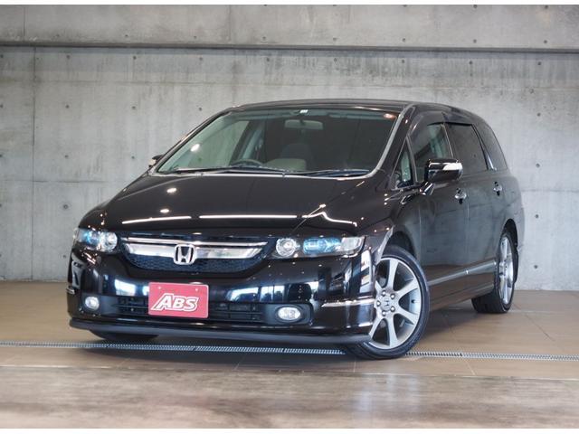 沖縄の中古車 ホンダ オデッセイ 車両価格 39万円 リ済別 2006(平成18)年 17.8万km ブラックM