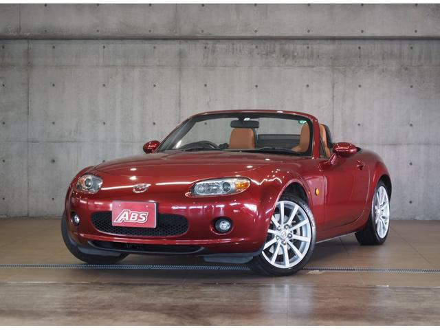 沖縄の中古車 マツダ ロードスター 車両価格 98万円 リ済別 2006(平成18)年 8.7万km レッド