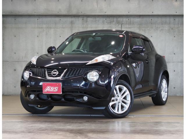 沖縄の中古車 日産 ジューク 車両価格 58万円 リ済別 2011(平成23)年 8.8万km ブラックM