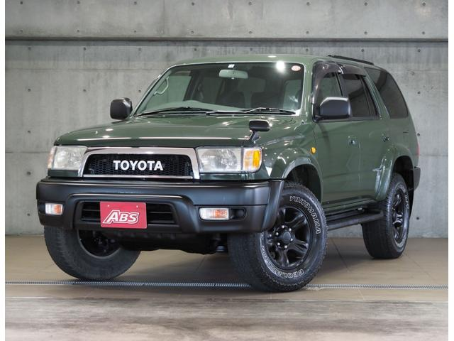 トヨタ SSR-V ブラックナビゲーター TOYOTAエンブレム&クラシックグリル USコーナー 純正AW 背面タイヤ 黒シートカバー