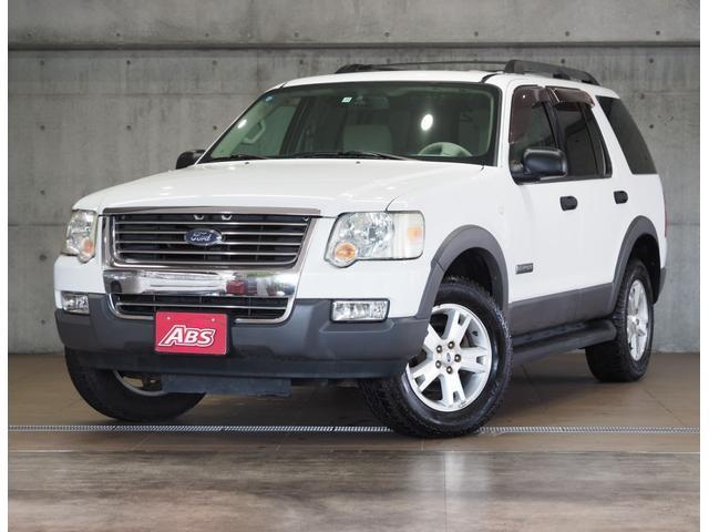 中頭郡北谷町 ABS 北谷店 フォード エクスプローラー XLT ホワイトII 8.1万km 2006(平成18)年
