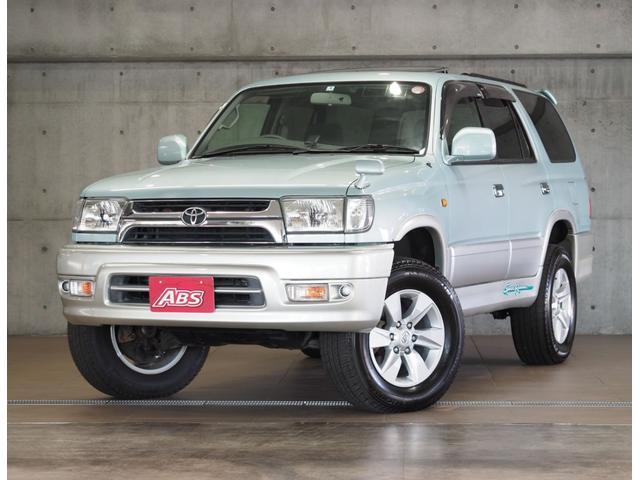 沖縄の中古車 トヨタ ハイラックスサーフ 車両価格 123万円 リ済別 2001(平成13)後 10.0万km ブルーII