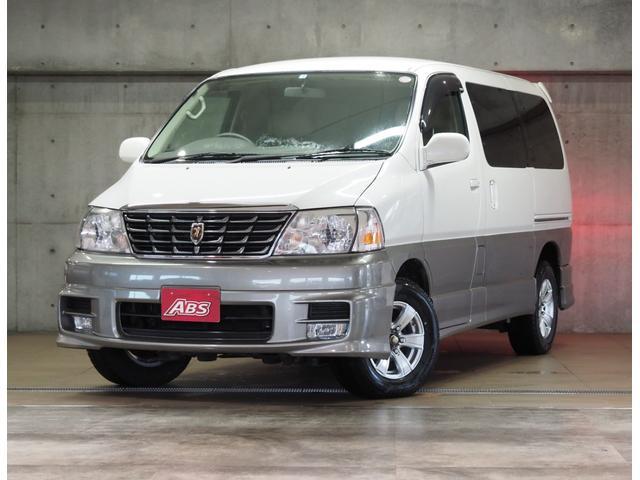 沖縄の中古車 トヨタ グランドハイエース 車両価格 79万円 リ済別 2001(平成13)年 4.6万km ホワイトII